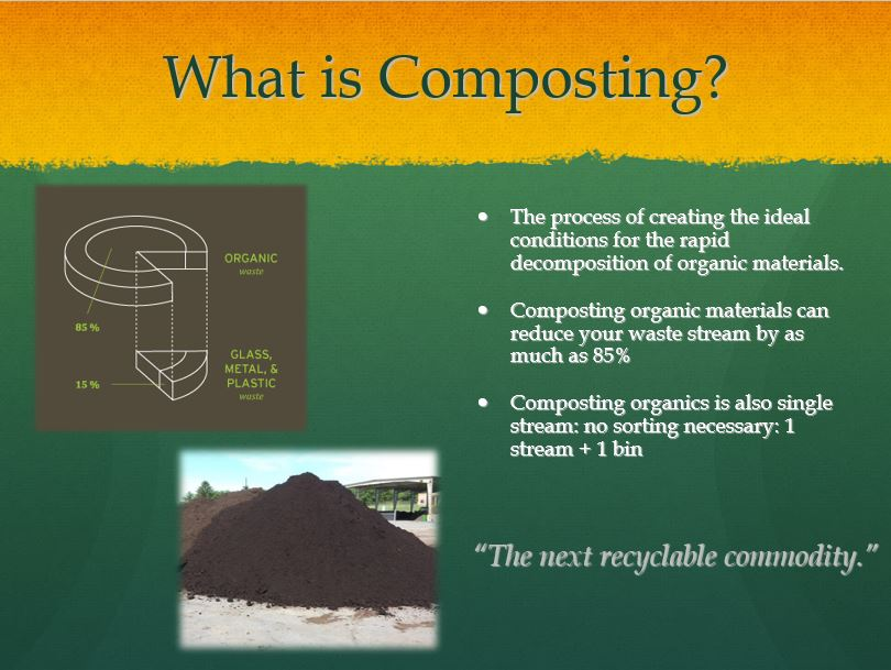 Food Composting Service Unlimited Recycling Inc Metro